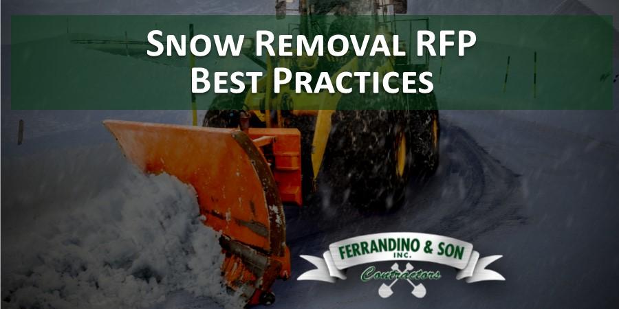 WEBINAR: Snow Removal RFP Best Practices