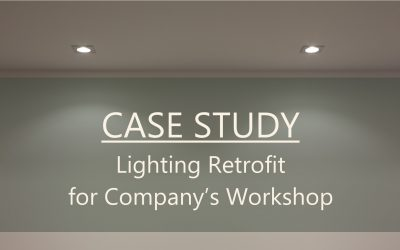 Case Study: Lighting Retrofit for Company's Workshop