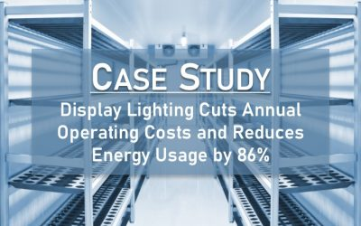 Case Study: Refrigerated Display Case LED Lighting Retrofit