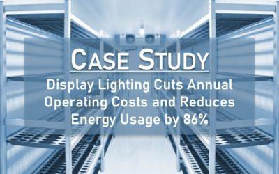 Case Study: Refrigerated Display Case LED Lighting Retrofit
