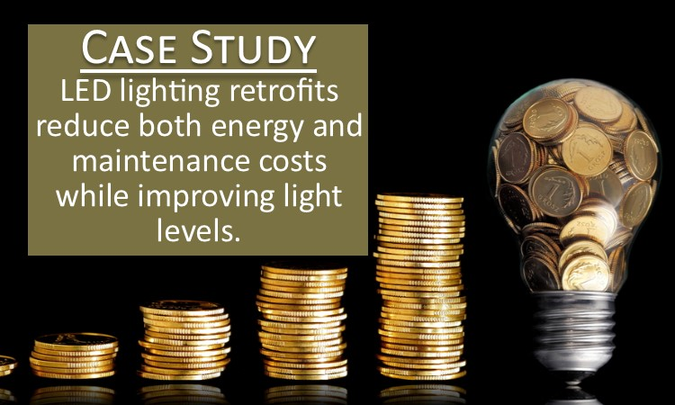 Case Study: LED Lighting Retrofit — Distribution Center