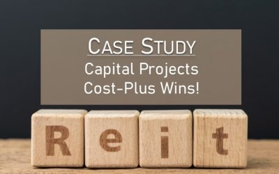 Case Study: Capital Projects Cost-Plus Wins!