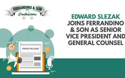 Edward Slezak Joins Ferrandino & Son as Senior Vice President and General Counsel to Oversee the Company's Legal Function