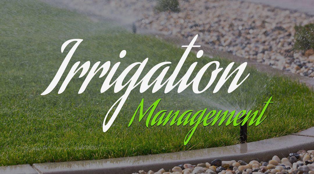 WEBINAR: Irrigation Management