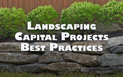 WEBINAR: Landscaping Capital Projects Best Practices