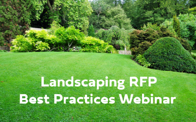 WEBINAR: Landscaping RFP Best Practices