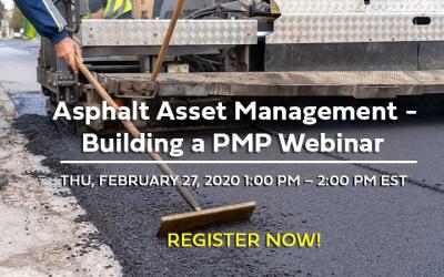 """WEBINAR: BlueSky Paving's """"Asphalt Management – Creating a PMP"""""""