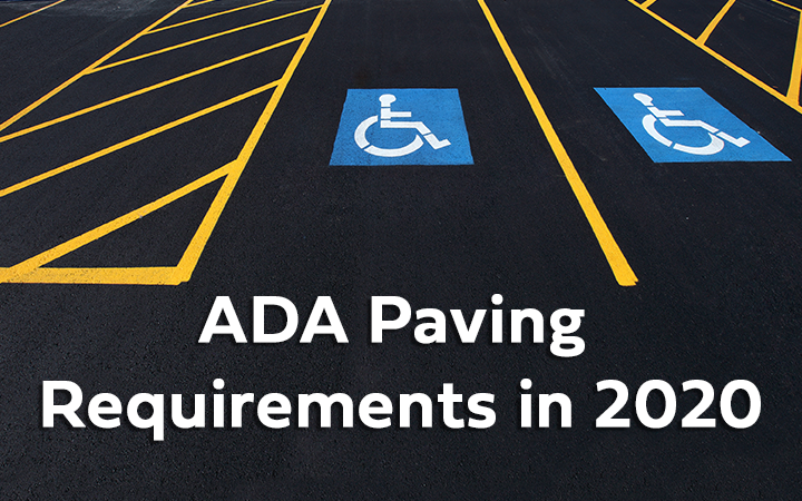 "WEBINAR: BlueSky Paving's ""ADA Paving Requirements in 2020"""