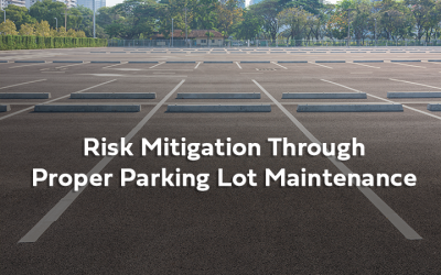 WEBINAR: Risk Mitigation Through Proper Parking Lot Maintenance