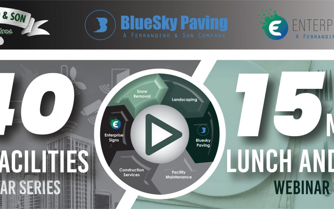 15 Minute Lunch and Learn: BlueSky Paving Line Striping and Sealcoating Best Practices