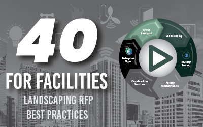 40 For Facilities: Landscaping RFP Best Practices