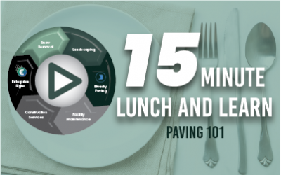 """15 Minute Lunch & Learn: BlueSky Paving's """"Paving 101"""""""