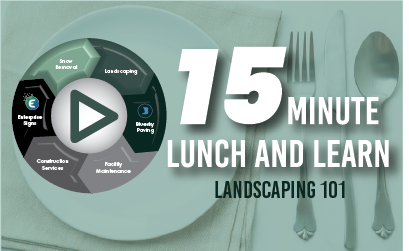15 Minute Lunch & Learn: Landscaping 101
